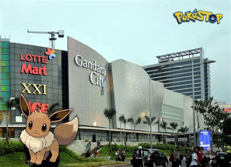 amazone gandaria city 7 mall paling seru untuk berburu pokestop di jakarta