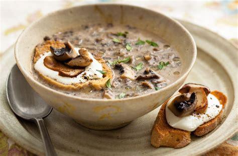 mushroom soup recipe goodtoknow