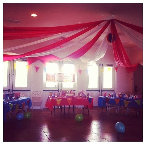Circus Tent Decorations by Circus Decorations Circus Tent Decoration