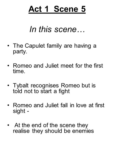 themes in romeo and juliet act 1 scene 2 romeo and juliet key scenes ppt download