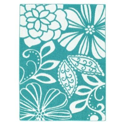 teal rug for the home