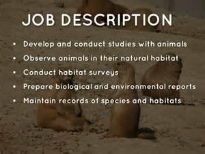 Biologist Description by Doc 460288 Zoologist Description Zoologist Description 67 More Docs