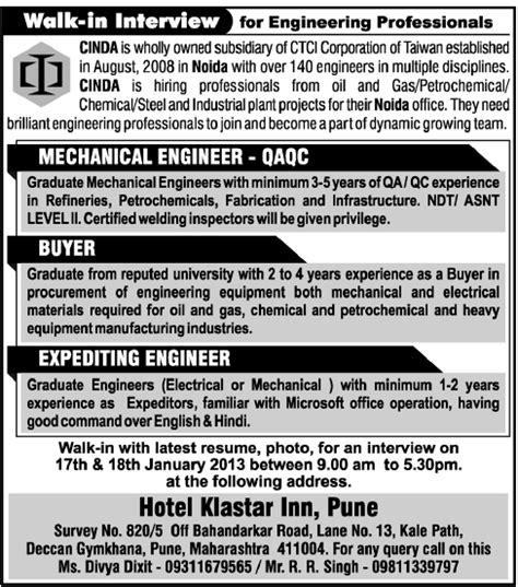 design engineer job vacancy in pune jobs in cinda engineering and construction pvt ltd