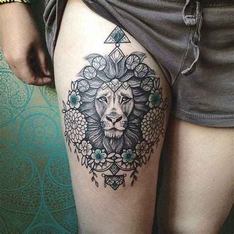 tattoo mandala coxa 17 melhores ideias sobre tatuagens na coxa no pinterest