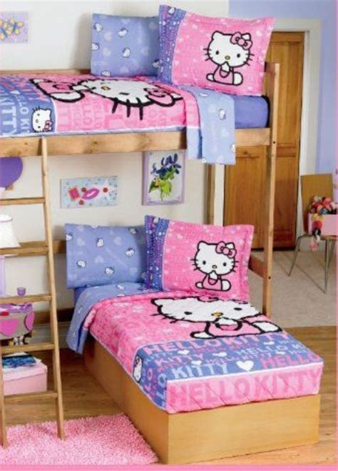 hello kitty bunk bed 19 sweet hello kitty kids room d 233 cor ideas shelterness