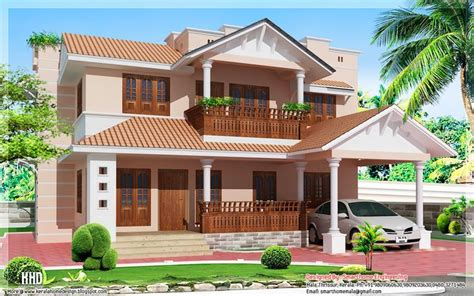 Kerala Home Design Tiles Villa Homes 1900 Sq Kerala Style 4 Bedroom Villa