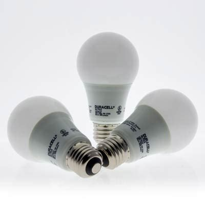 duracell ultra led a19 light bulb led12638 duracell ultra 60w equivalent dimmable a shape