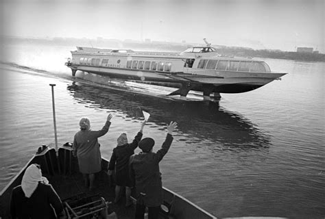 hydrofoil boat russia river rockets of the soviet space age