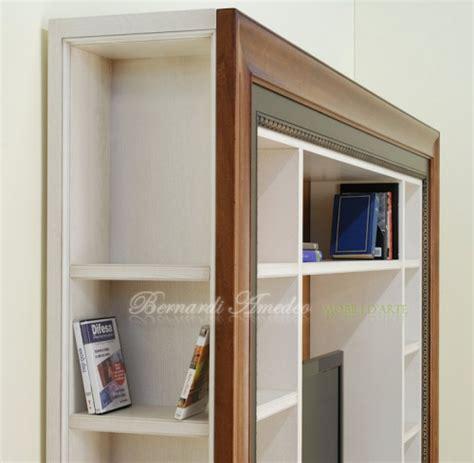 libreria con cornice libreria porta tv con cornice ros