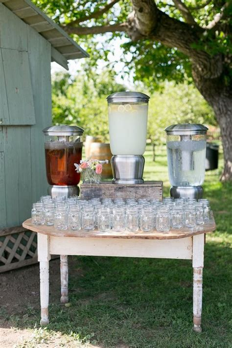 drink table decorating ideas 28 watering wedding food drink bar ideas for your