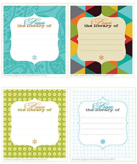 book label templates 1000 images about bookplate labels book label templates