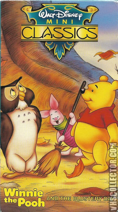 Pooh And Cover winnie the pooh and the blustery day vhscollector