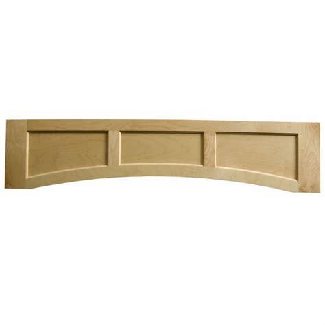 Flat Valance wood valances solid wood flat panel valance by omega national kitchensource