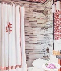 design your own shower curtain online 1000 images about monogrammed shower curtains on