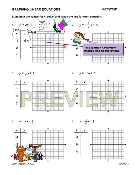 Graphing Systems Of Linear Inequalities Worksheet Answers by Linear Graph Worksheet Lesupercoin Printables Worksheets