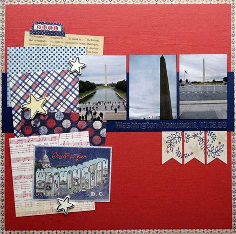 scrapbook layout washington dc 142 best washington dc scrapbooking ideas images on