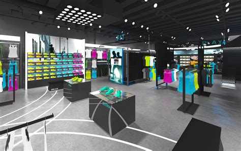 sporting shoe stores the yard creative introduces moving mannequins to jd pro