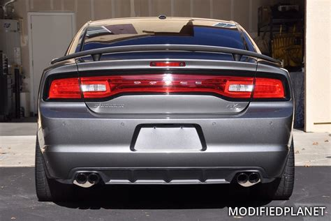 dodge exhaust tips 2012 dodge charger rt with corsa performance cat back exhaust
