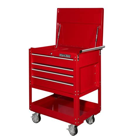 Utility Cart With Drawer by Tools 32 In 4 Drawer Deluxe Utility Cart In