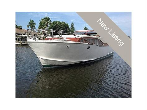 steel clipper boat inland seas 40 steel clipper in florida power boats used