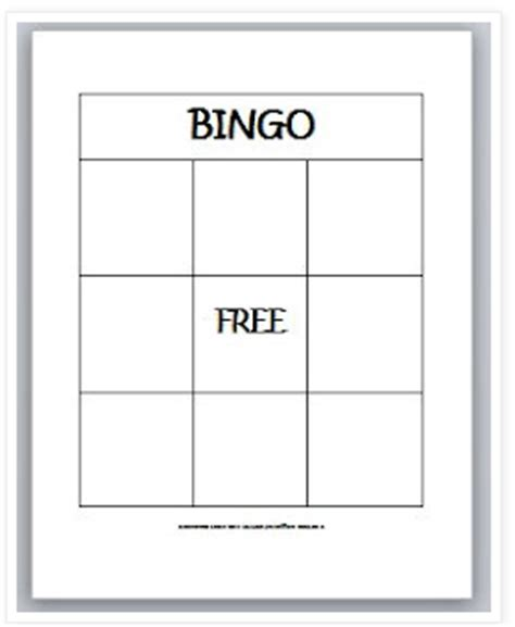 learningideasgradesk 8 blank bingo card