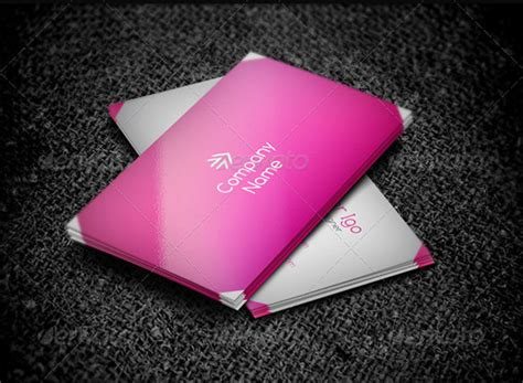 pink business cards templates free 20 pink business cards free psd eps ai indesign