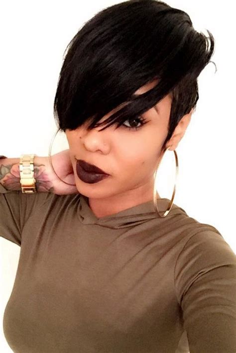 hairsyles to make an oval face younger best 20 black pixie haircut ideas on pinterest black