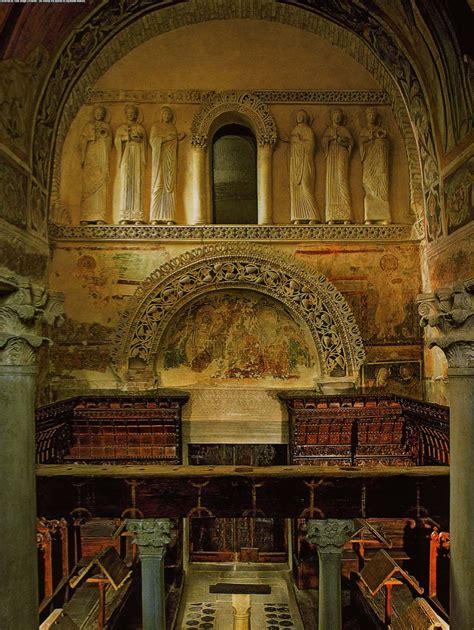 cabecera tripartita arte lombardo arte de tradiciones germ 225 nicas iglesia de