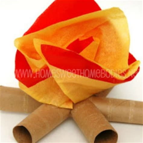 How To Make Tissue Paper Flames - 15 tissue paper crafts for page 6