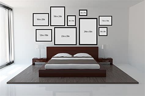 11x14 bedroom 2 pack 11x14 black picture frame made to display pictures 8x10 and 8 5x11 with mat