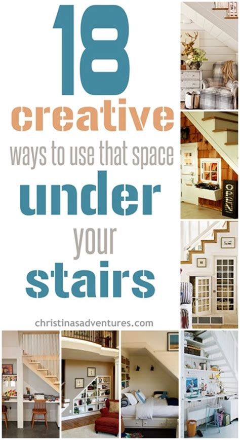 how to use spaces 18 creative ways to use the space your stairs christinas adventures