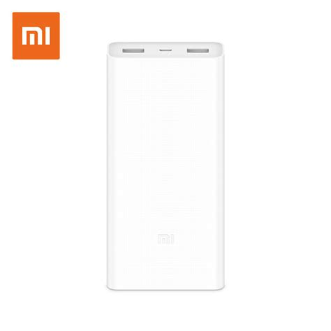 Powerbank Xiaomi 20000mah xiaomi 20000mah power bank 2c upgraded version megaone pakistan