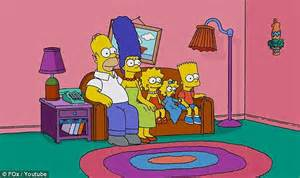 simpsons sitting on couch the apartment in the big bang theory is america s favorite