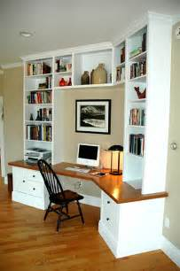 built in desk casual cottage