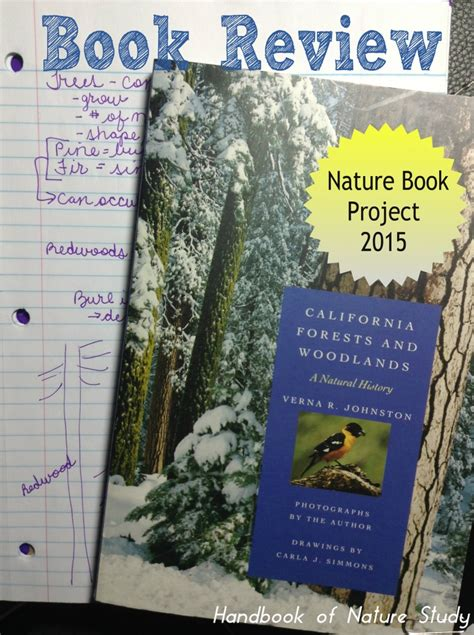 nature picture books california forests and woodlands nature book review