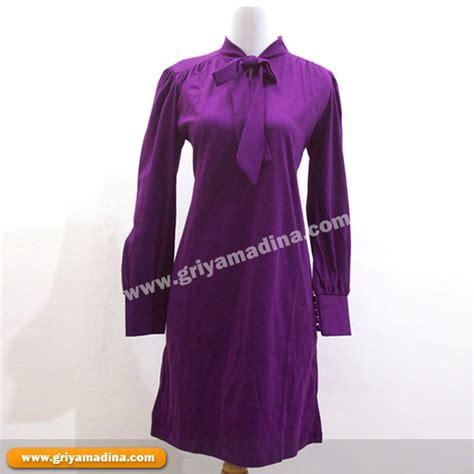 Grosir Murah Baju Flanella Dress Tartan fashion muslim world model baju muslim atasan
