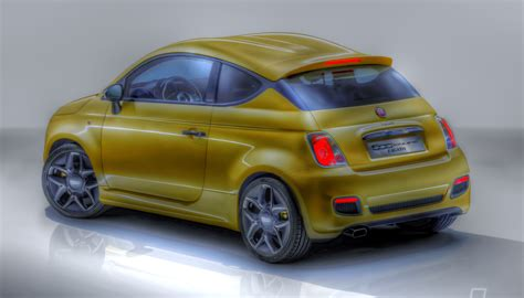 Fiat 500 Coupe by Fiat 500 Coupe Zagato Hdr By Langusmaiden On Deviantart