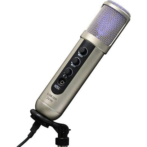 condenser microphone usb mxl usb 009 24 96 digital usb condenser microphone musician s friend