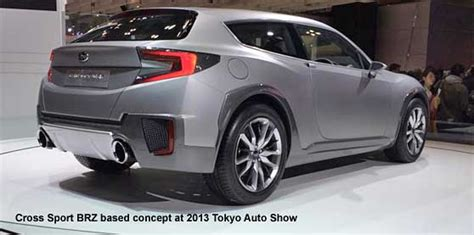 subaru concept truck subaru cross sport concept brz wagon 2013 auto html