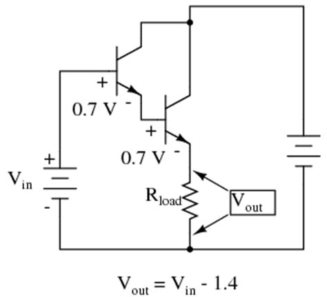 darlington transistor connection lessons in electric circuits volume iii semiconductors chapter 4
