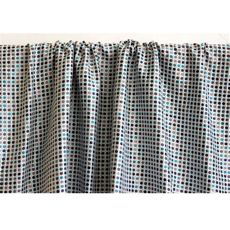 Multi Colored Curtains Drapes Multi Colored Polka Dots Curtain 52x84 Rod Pocket