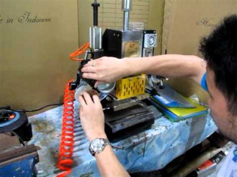 Mesin Hotprint Mini jual mesin hotprint alat emboss pembuat matras sting agaclip make your
