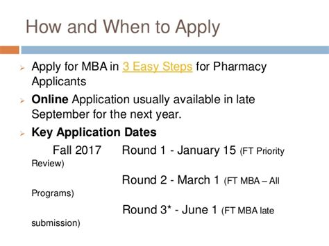 Late Application For Mba by Pacific Pharmd Mba Session Oct 27 2016 Slideshare