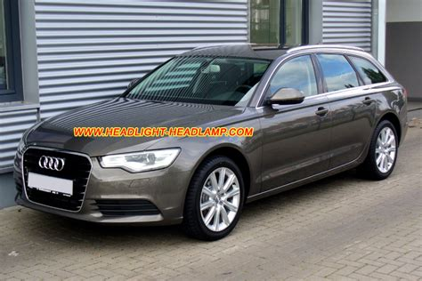 audi a6 s6 rs6 c7 headlight lens cover broken lcover