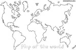 world map color sheet world map coloring pages coloring pages to and