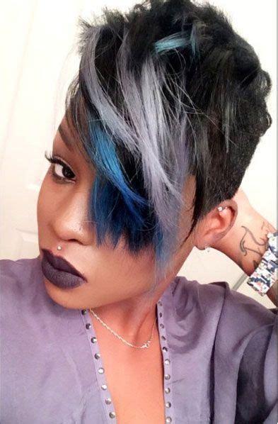 short hair black women with highlights pinterest pinterest the world s catalog of ideas