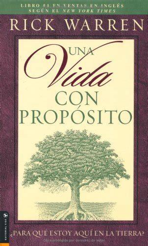 cheapest copy of una vida con proposito spanish edition by rick warren 0829737863
