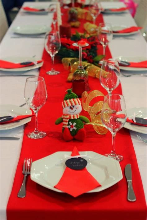 decorar mesa de natal ideias simples para decorar a mesa de natal jeito de