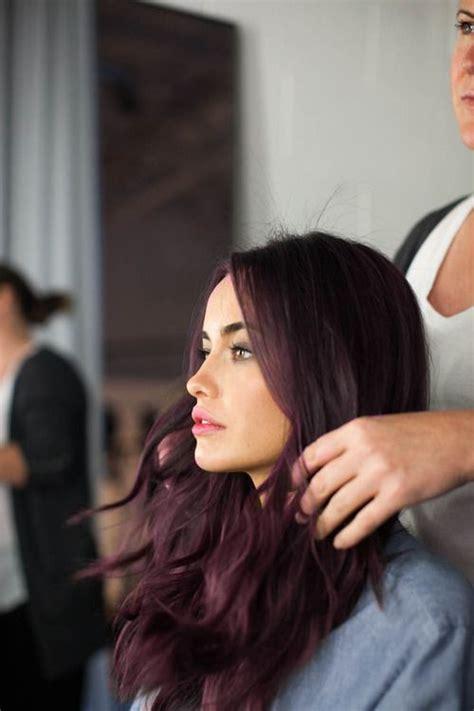 brown plum hair color plum brown makeup and hair pinterest locks hair and
