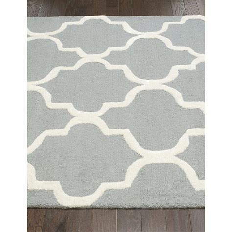 Gray And White Trellis Rug by Possible Grey And White Rug Option Nuloom Handmade